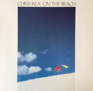 Chris Rea - On The Beach (LP) (VG+/VG++)